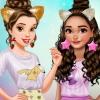 Belle And Moana Friendversary
